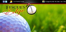 Fescues Edge - web design