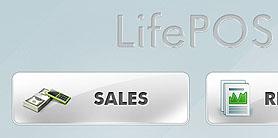 LifePOS - Touchscreen App - UI design