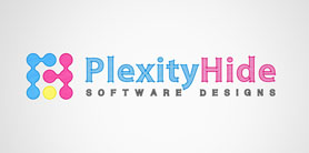 Plexity Hide - logo design